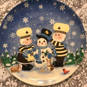 Hershey's collectible plate
